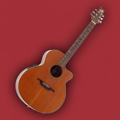 Guitare électro-acoustique Lag